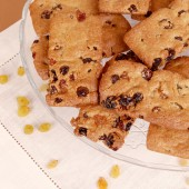 Raisin and Honey Bars